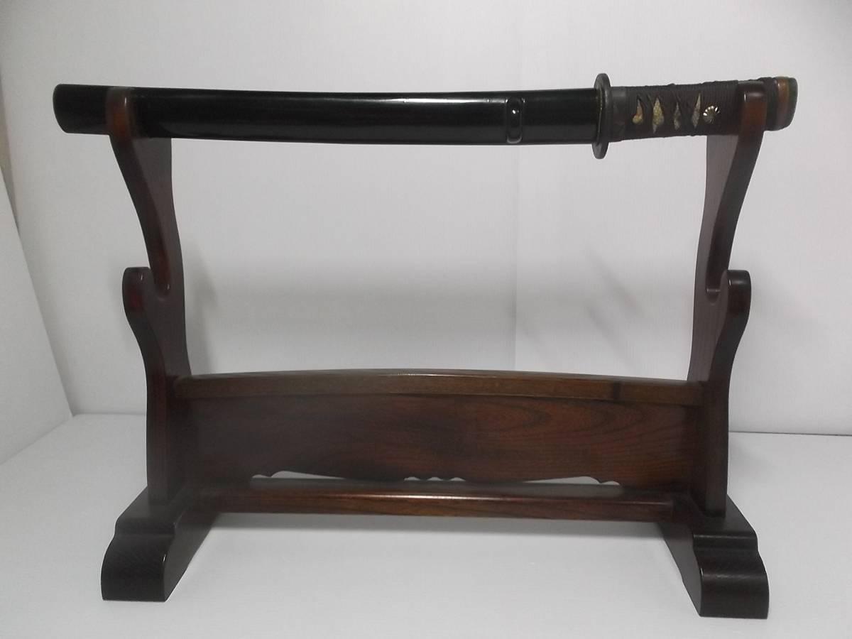 脇差 全長50cm 重さ470g 護身刀 日本刀 本身 登録証付_画像1