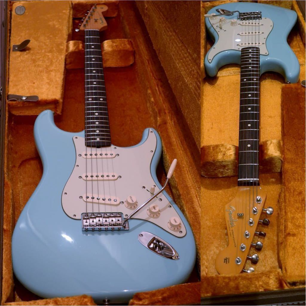 【Thin Lacquer】Fender American Vintage '62 Stratocaster Daphne Blue