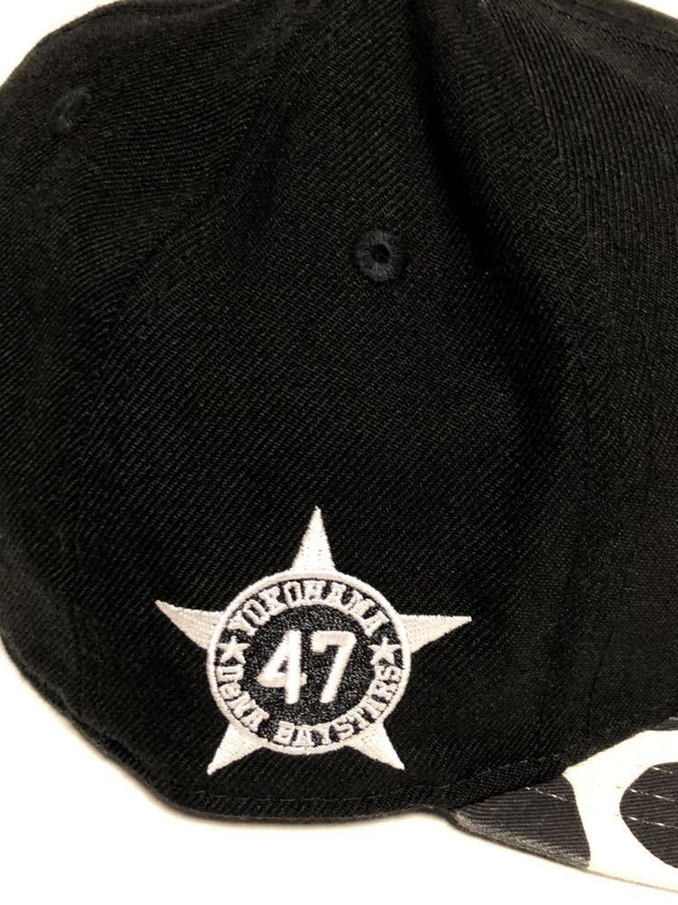 2016年限定!144個限定!砂田毅樹 横浜DeNAベイスターズ 砂田 NEW ERA (ニューエラ) 9FIFTY キャップ 帽子 フリーサイズFREE大洋ホエールズ_画像4