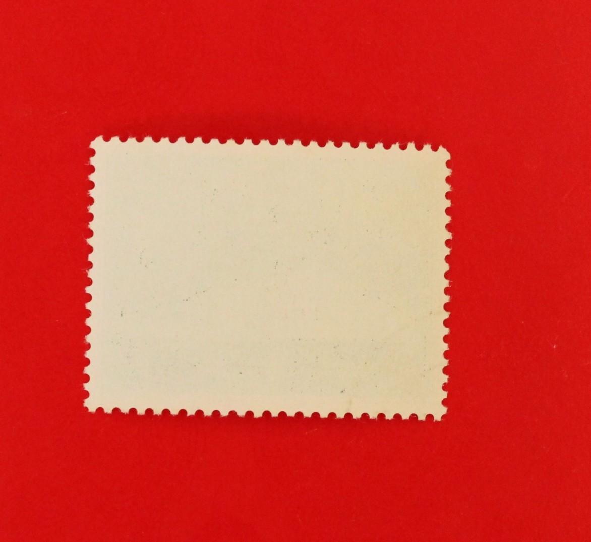 中国切手 紀65 中国・スロバキア郵電技術協力 1種完★消印あり_画像2