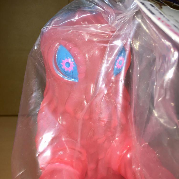 ヘドラ350 A& Baby 特殊成型版 ピンク 二重 成型 水中期 幼体 東宝 怪獣 ソフビ フィギュア marusan マルサン GODZILLA HEDORAH_画像4