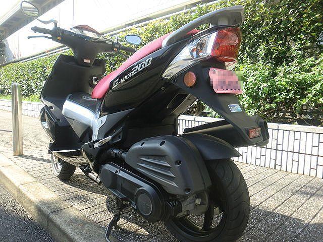 ★超~カッチョイイ!G-MAX200☆走行少なく3473km/PGO★東京/大田区【下取OK】_画像4