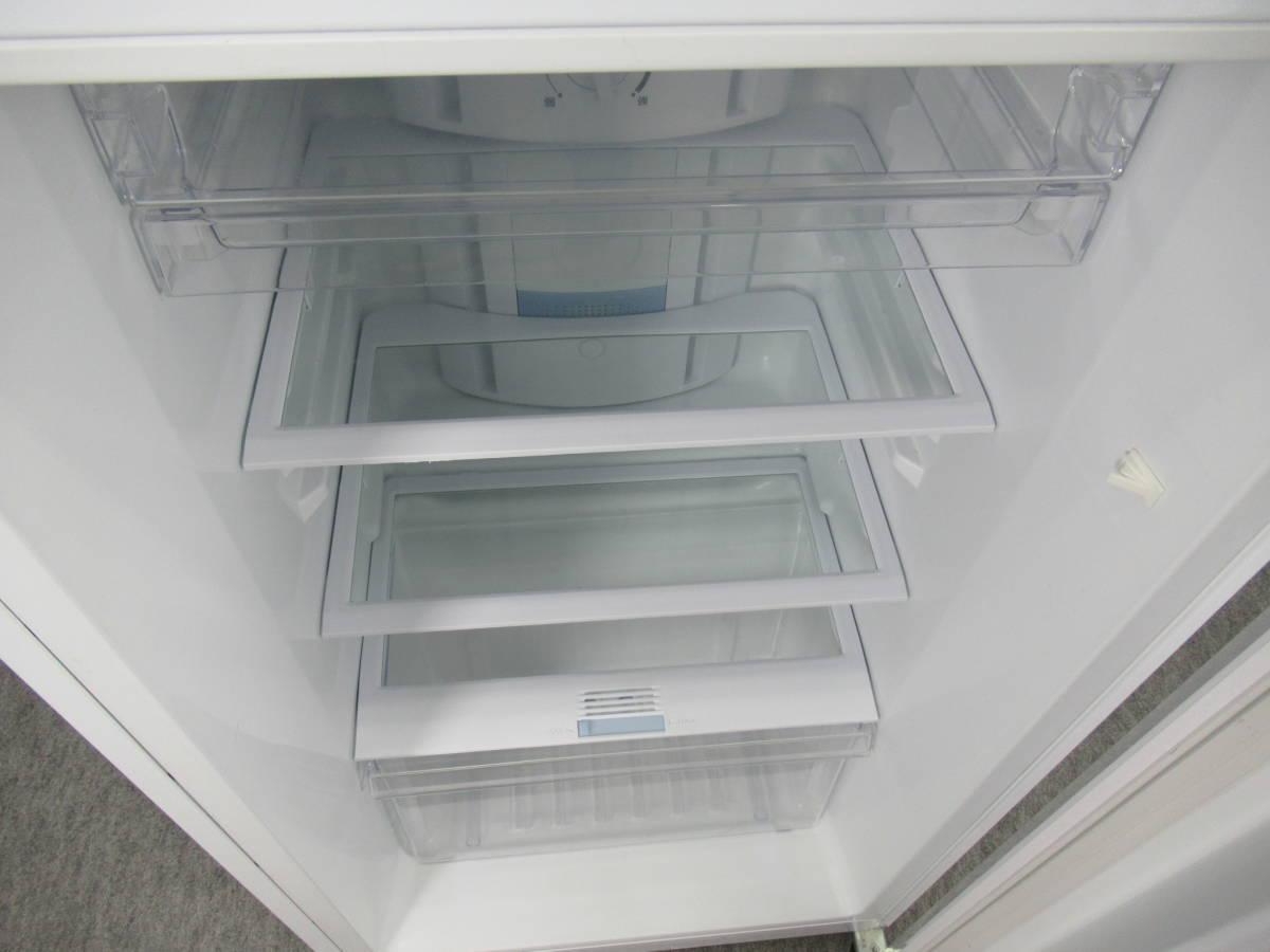 Haier ハイアール 227L 2ドア冷凍冷蔵庫 JR-NF225A ホワイト 2015年製 右開き 上冷凍室_画像4