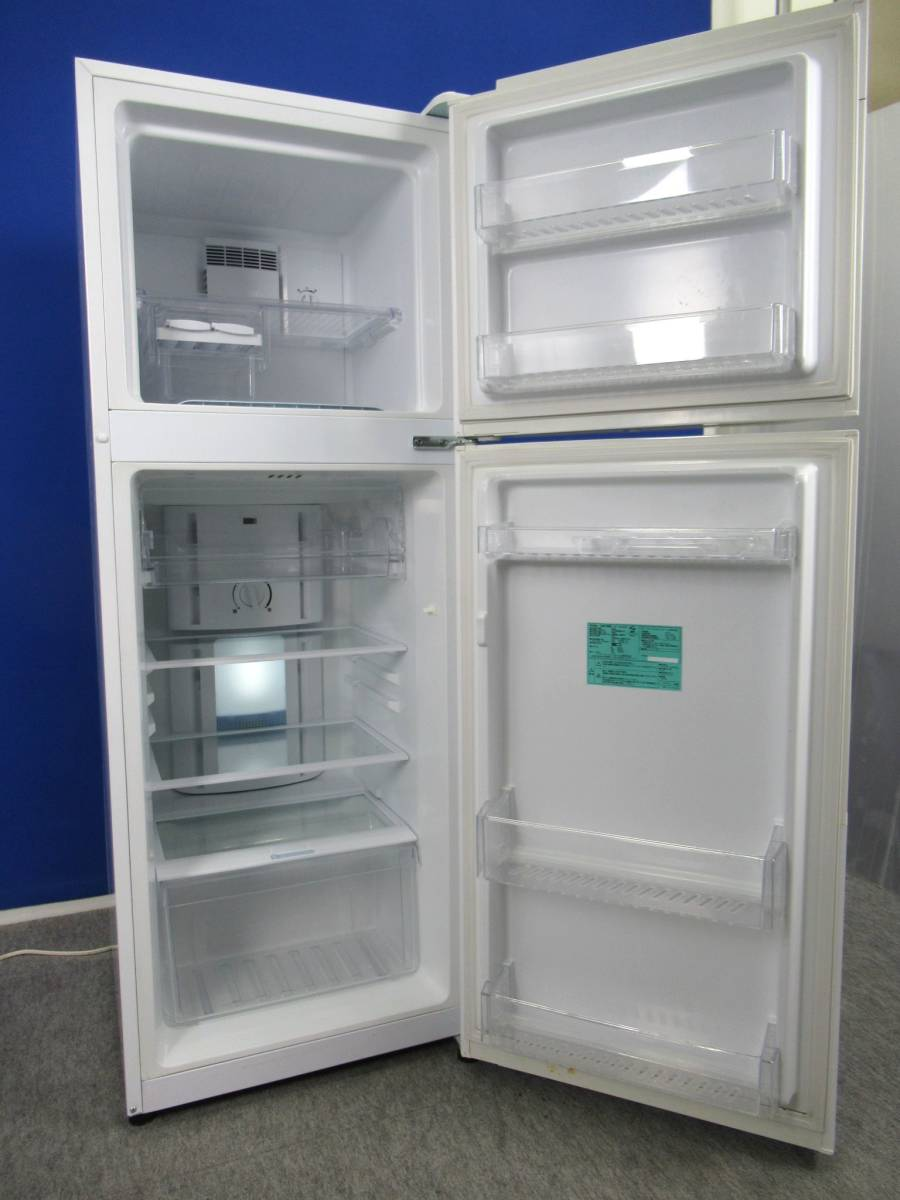 Haier ハイアール 227L 2ドア冷凍冷蔵庫 JR-NF225A ホワイト 2015年製 右開き 上冷凍室_画像2