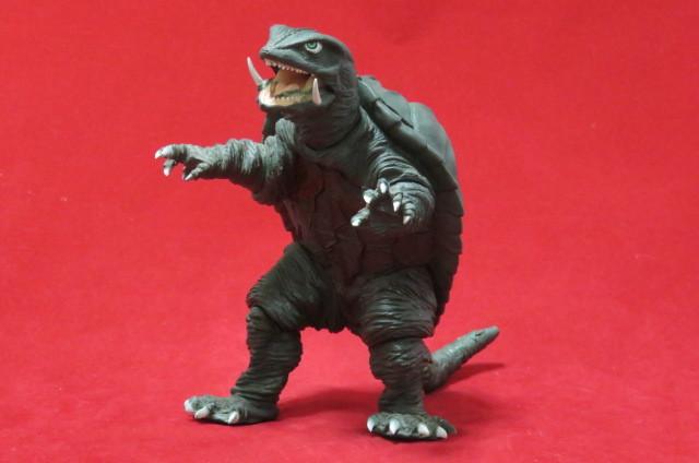 ツクダホビー ガメラ1995 怪獣 大映 ソフビ USED 同梱可_画像1