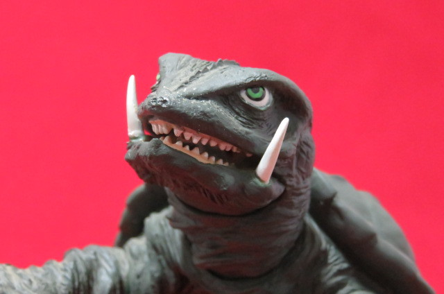 ツクダホビー ガメラ1995 怪獣 大映 ソフビ USED 同梱可_画像7