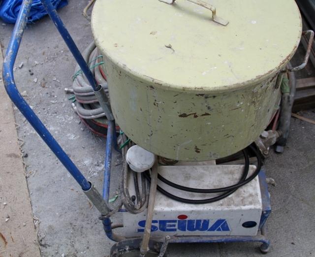 SEIWA  精和産業 マルチポンプ MP80SC リシン・ヒル石・フィーラー 圧送機  球吹きガン付☆_画像4