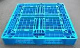 plastic Palette used 1100×1100×150mm one side 4 person difference . mesh type .100 sheets.