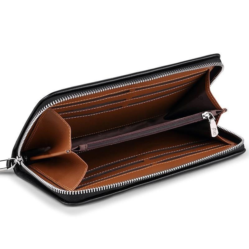 「WILLIAMPOLO」ラウンドファスナー長財布 カード入れ付き お札入れ メンズ 人気 シンプル 紳士用 小銭入れあり 正規品 箱付き POLO226_画像9