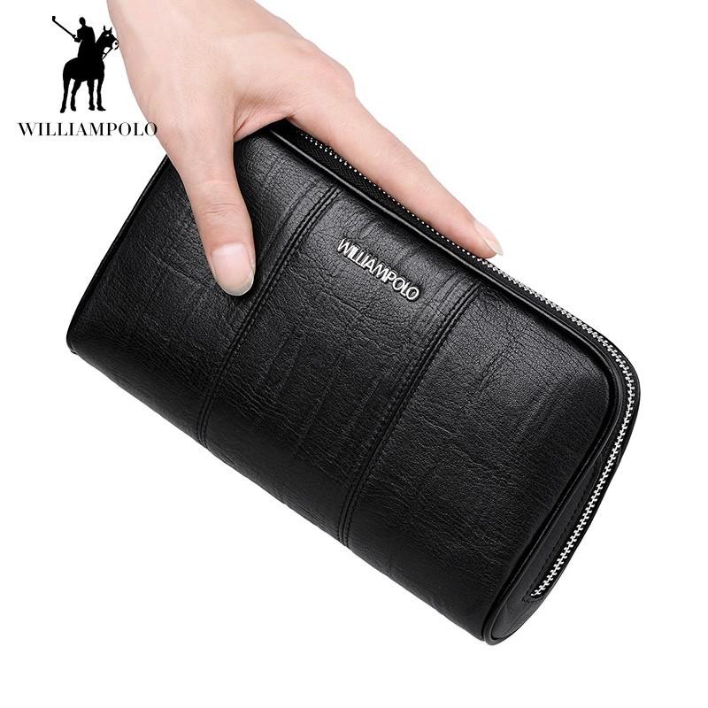 「WILLIAMPOLO」ラウンドファスナー長財布 カード入れ付き 小銭入れあり お札入れ メンズ 人気 シンプル 正規品 箱付き POLO287_画像7