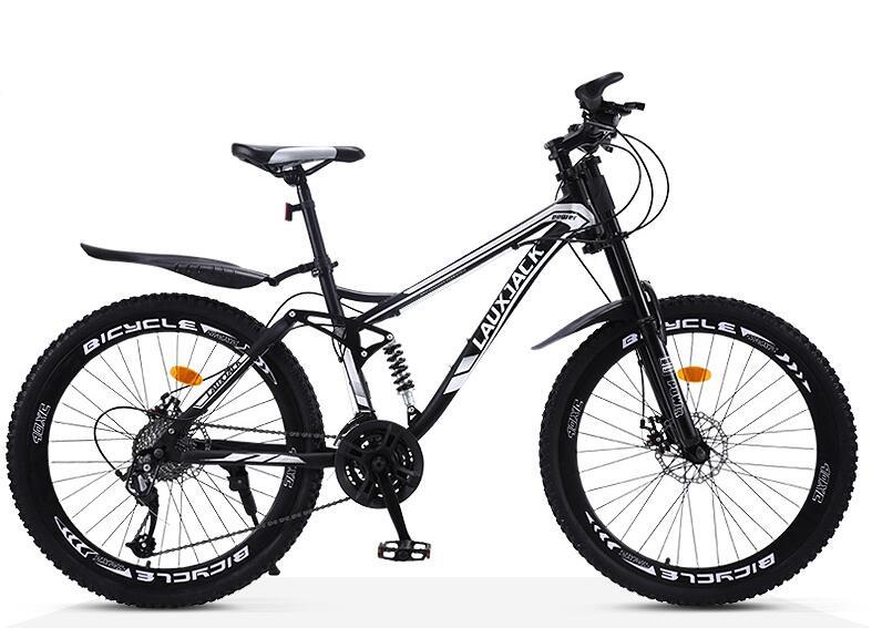新品 lauxjack 自転車 本体 マウンテンバイク 26インチ 21変速