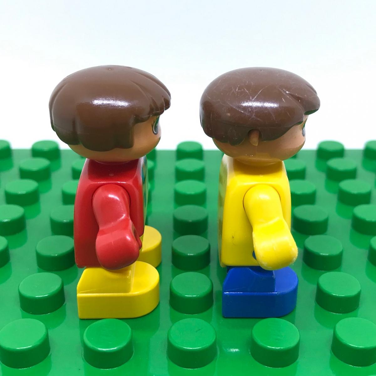 レゴ LEGO◆デュプロ こども 男の子 女の子 ミニフィグ フィギュア レア 子供 子ども レトロ_画像2