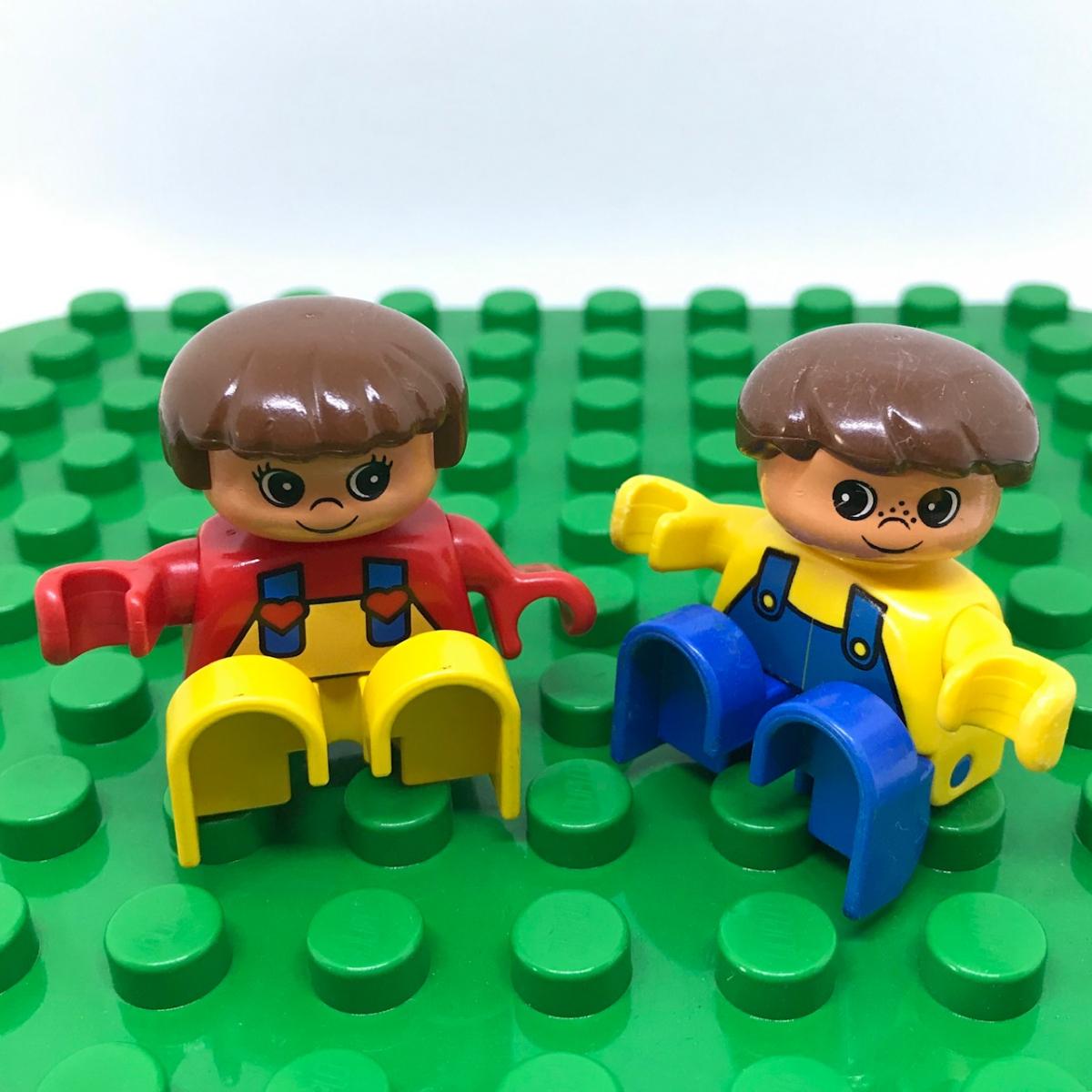 レゴ LEGO◆デュプロ こども 男の子 女の子 ミニフィグ フィギュア レア 子供 子ども レトロ_画像7