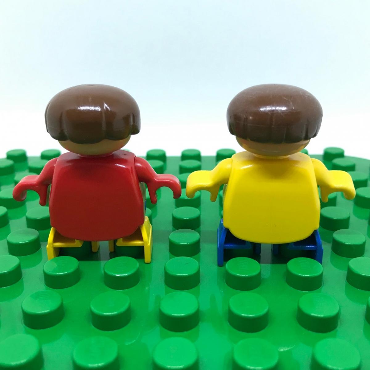 レゴ LEGO◆デュプロ こども 男の子 女の子 ミニフィグ フィギュア レア 子供 子ども レトロ_画像4