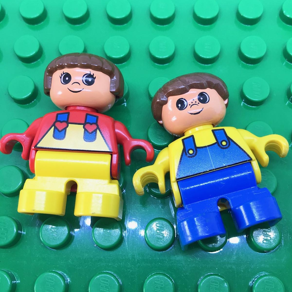 レゴ LEGO◆デュプロ こども 男の子 女の子 ミニフィグ フィギュア レア 子供 子ども レトロ_画像6