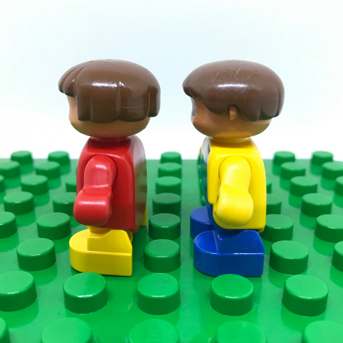 レゴ LEGO◆デュプロ こども 男の子 女の子 ミニフィグ フィギュア レア 子供 子ども レトロ_画像3