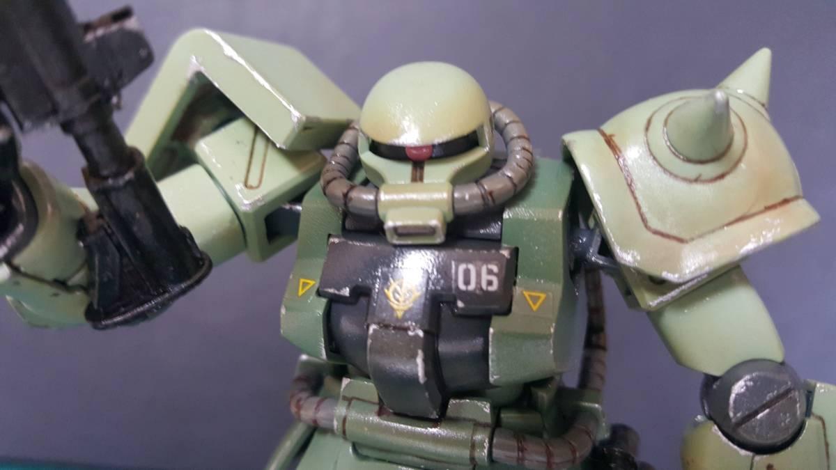 バンダイ HGUC1/144 ザクF2型 (完成塗装品)_画像9
