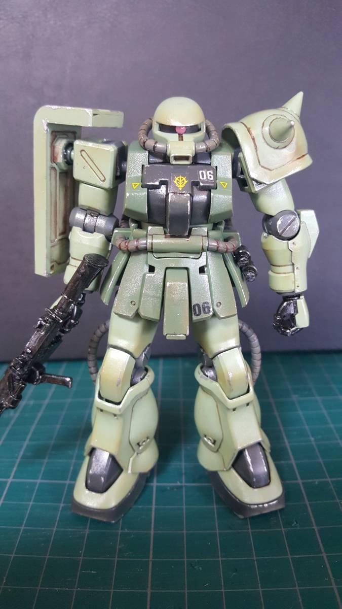 バンダイ HGUC1/144 ザクF2型 (完成塗装品)_画像2