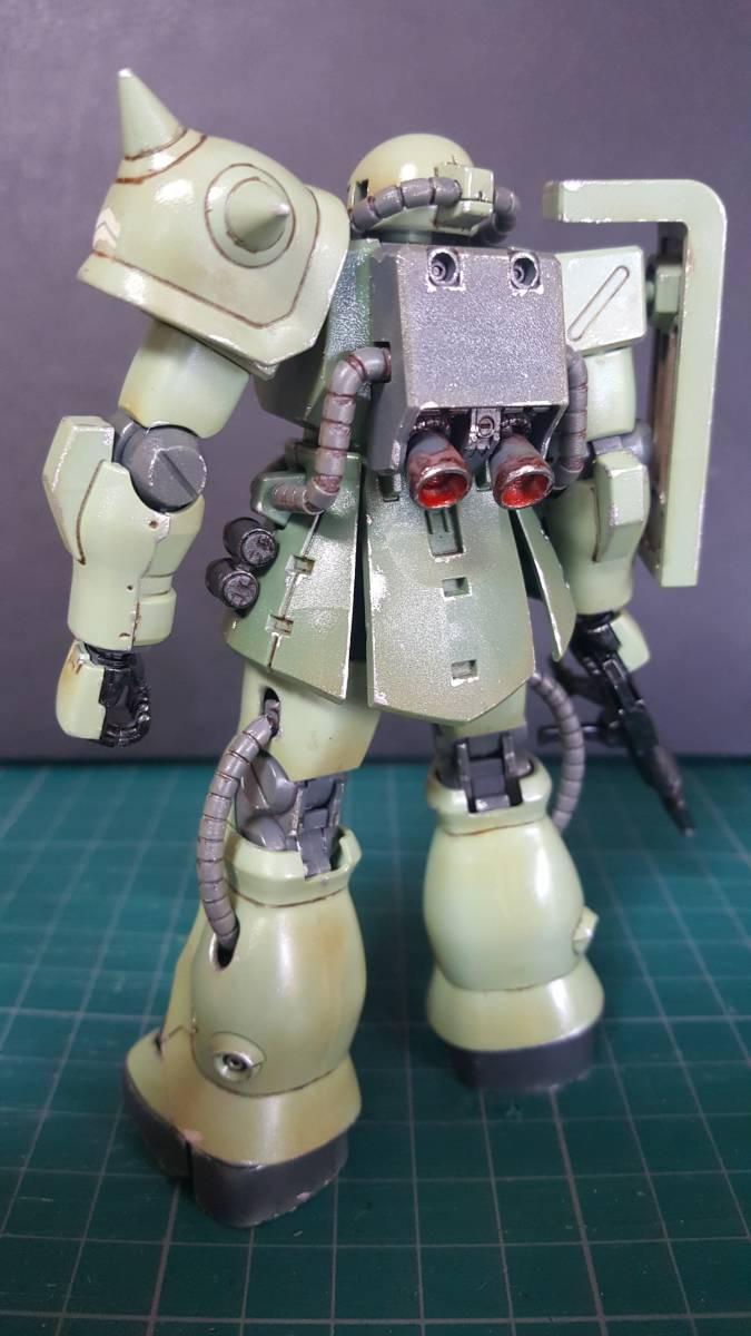 バンダイ HGUC1/144 ザクF2型 (完成塗装品)_画像3