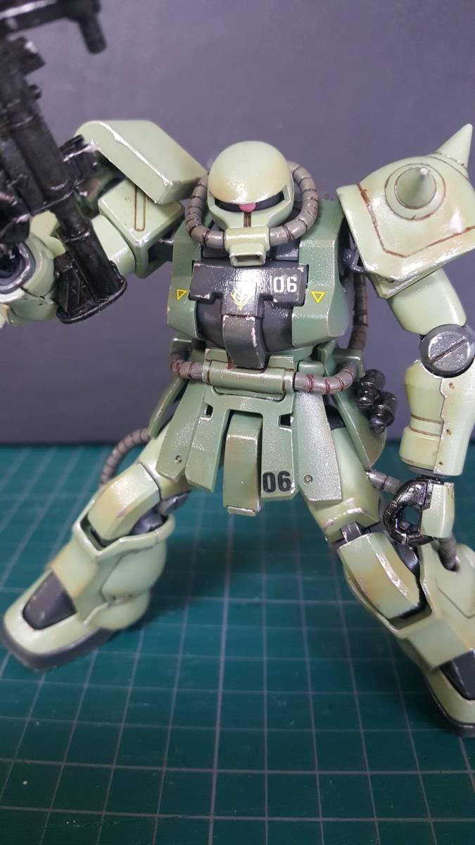 バンダイ HGUC1/144 ザクF2型 (完成塗装品)_画像7