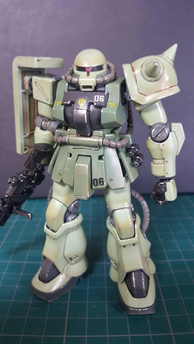 バンダイ HGUC1/144 ザクF2型 (完成塗装品)_画像8
