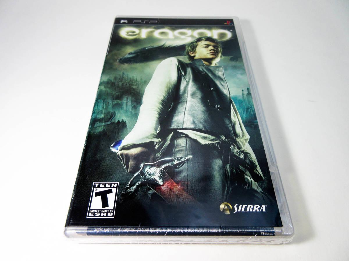 【新品未開封】【日本未発売 北米版 PSP】Eragon エラゴン 【日本のPSP本体で動作可】 SIERRA_画像1