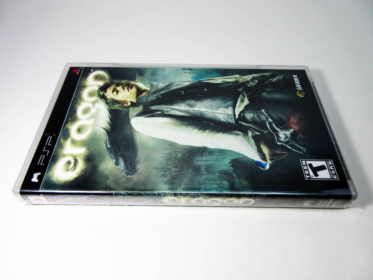 【新品未開封】【日本未発売 北米版 PSP】Eragon エラゴン 【日本のPSP本体で動作可】 SIERRA_画像3