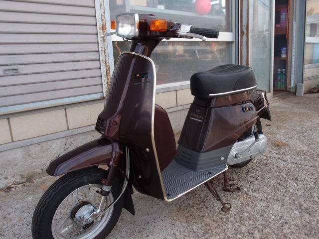 「ラブLOVE スズキFA11A 旧型スクーター 貴重な新車未登録です。欠品やサビあります。つくば市から売り切りです☆彡」の画像1
