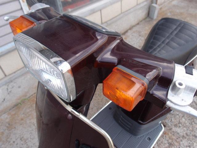 「ラブLOVE スズキFA11A 旧型スクーター 貴重な新車未登録です。欠品やサビあります。つくば市から売り切りです☆彡」の画像2
