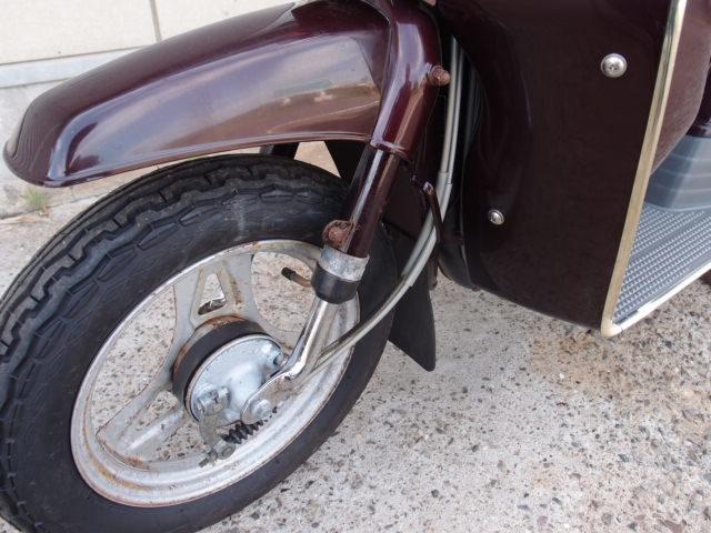 「ラブLOVE スズキFA11A 旧型スクーター 貴重な新車未登録です。欠品やサビあります。つくば市から売り切りです☆彡」の画像3