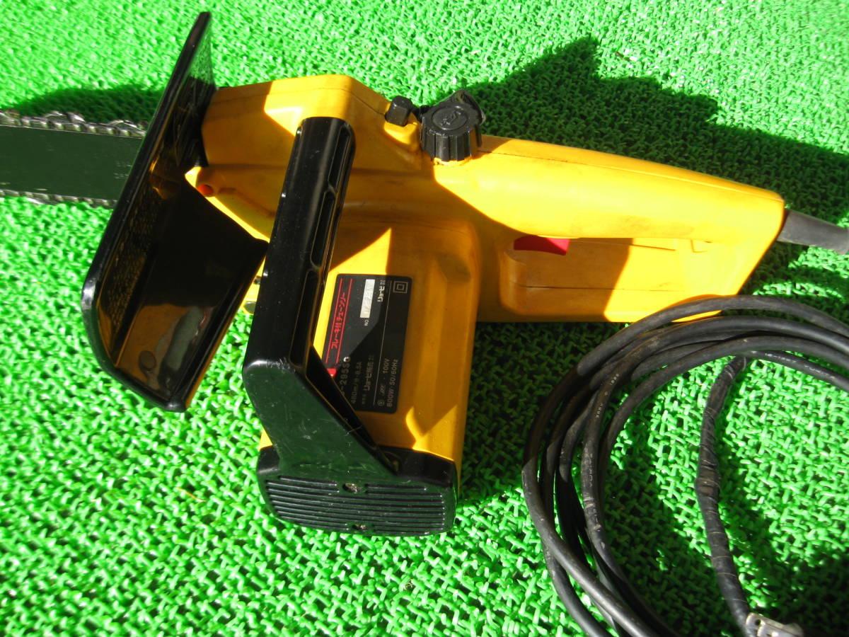 動作OK RYOBI リョービ 電気チェーンソー CS-295SG 電動 チェーンソー 電動工具 農機具 DIY用品 中古品 _画像5