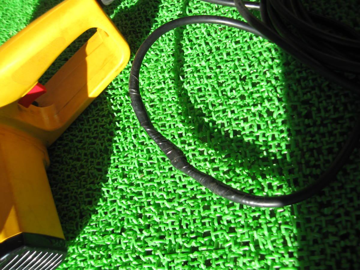 動作OK RYOBI リョービ 電気チェーンソー CS-295SG 電動 チェーンソー 電動工具 農機具 DIY用品 中古品 _画像6