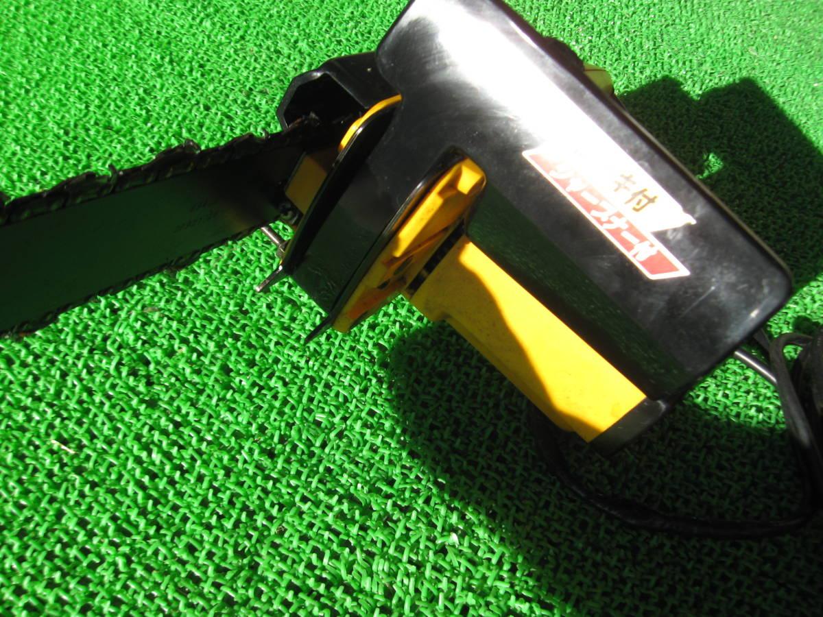 動作OK RYOBI リョービ 電気チェーンソー CS-295SG 電動 チェーンソー 電動工具 農機具 DIY用品 中古品 _画像7