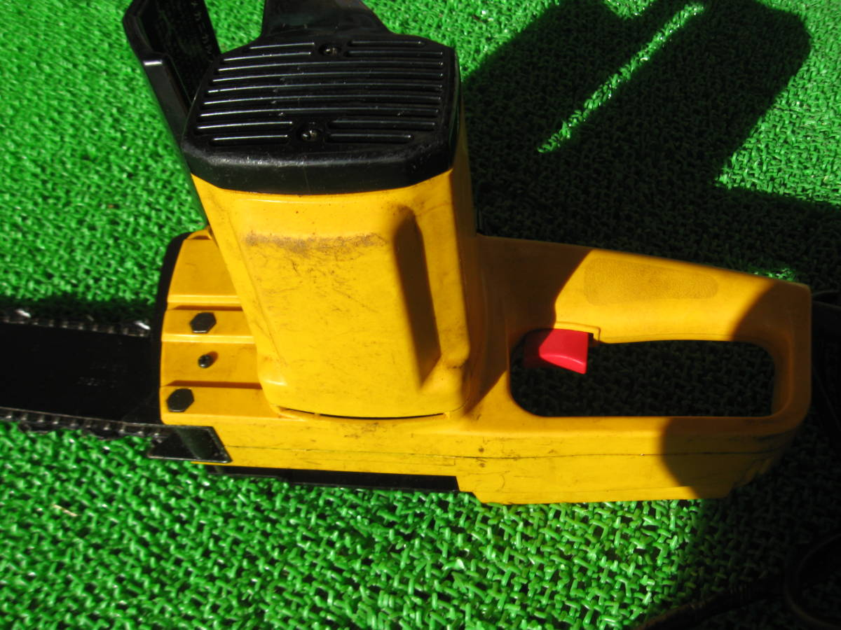 動作OK RYOBI リョービ 電気チェーンソー CS-295SG 電動 チェーンソー 電動工具 農機具 DIY用品 中古品 _画像10