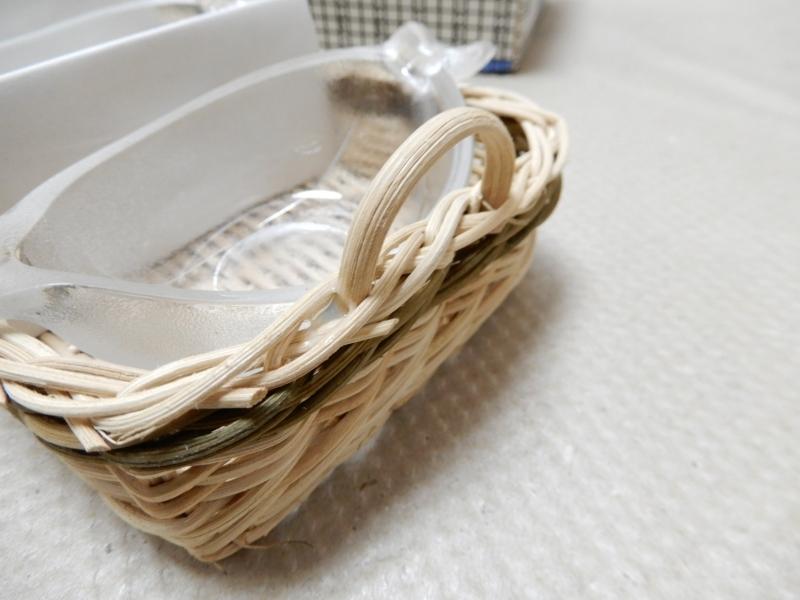 1426★1スタ★【未使用品】ロジエ スリーグラス ガラス製ナッツボウル おつまみ皿 _画像4