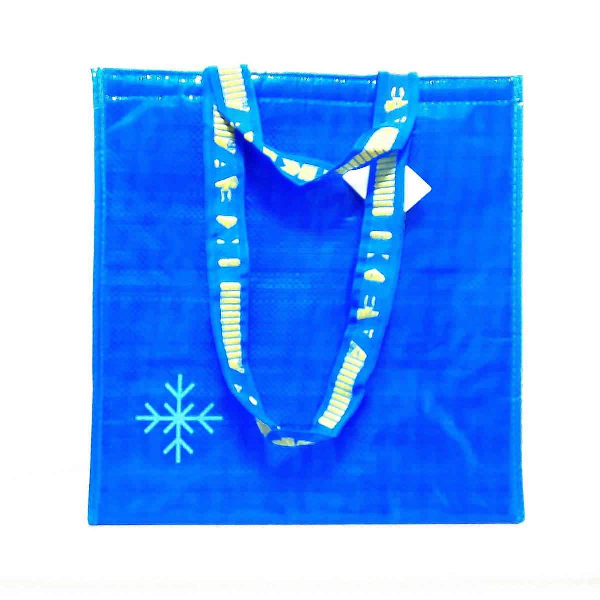 ≪ イケア FRAKTA フラクタ クーラーバッグ ≫ IKEA 保冷バッグ レジャー グッズ アウトドア ブルーバッグ コストコ カルディ エコバッグ_画像2