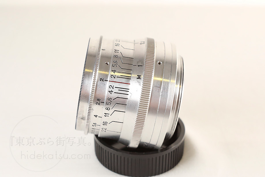 ジュピター8【分解清掃済み・撮影チェック済み】Jupiter-8 50mm F2.0 L39(Leica L) 上下キャップ_51e_画像3