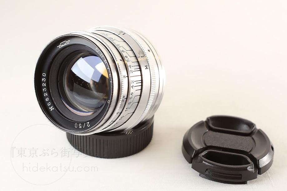 ジュピター8【分解清掃済み・撮影チェック済み】Jupiter-8 50mm F2.0 L39(Leica L) 上下キャップ_51e_画像2