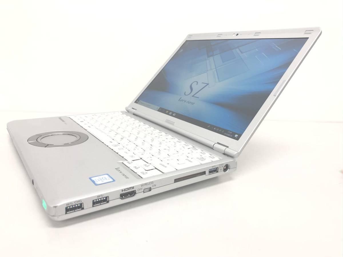 新品SSD 512GB◆CF-SZ6◆i5 7300U◆メモリ 8BG◆Office 2016◆990_画像3