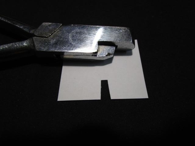 送料無料 国鉄/JNR 硬券 切符切りハサミ 2-1 禁煙環境で保管