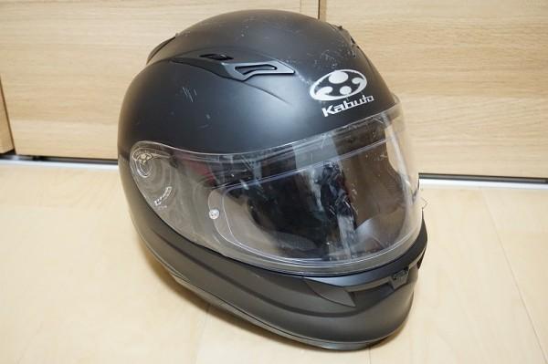 OGK KABUTO KAMUI FLUENTE カムイ サイズ【M 57-58cm未満】フルフェイスヘルメット マッ