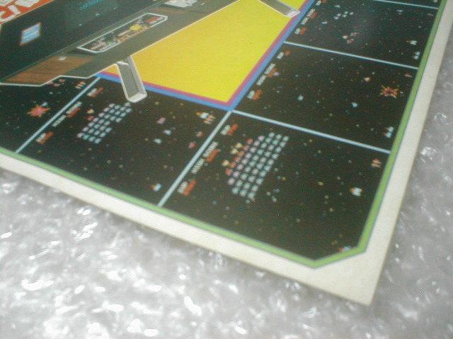 ※チラシ ギャラクシアン ナムコ galaxian namco テーブル筐体 初代 カタログ フライヤー パンフレット 販売促進 販促 型録 _画像4