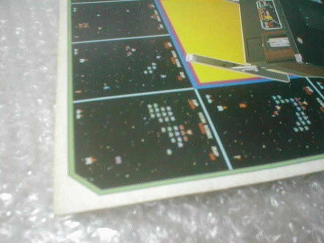 ※チラシ ギャラクシアン ナムコ galaxian namco テーブル筐体 初代 カタログ フライヤー パンフレット 販売促進 販促 型録 _画像5