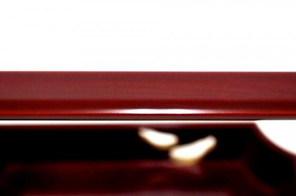 PN0621★【茶道具】塗師「漆仙」作 篷雪好(小堀権十郎)瓢すかし・莨盆☆煙草盆☆武者小路千家 十二代 愈好斎 聴松・箱書き花押☆共箱入り★_画像7
