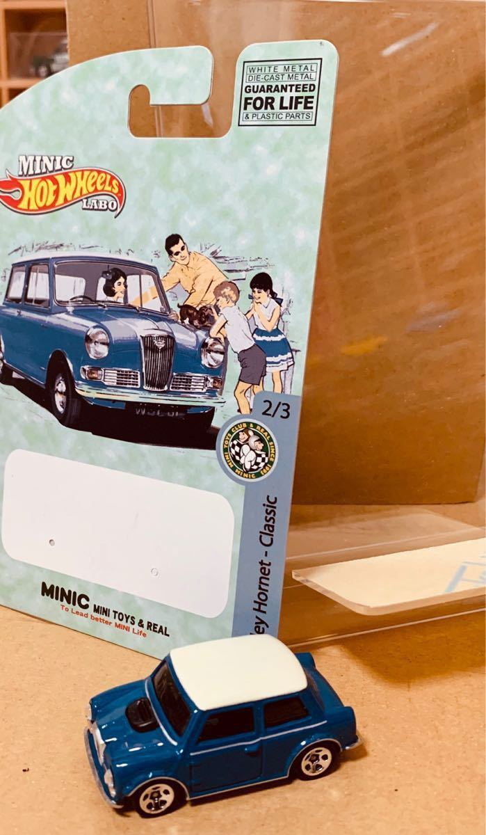 HOT WHEELS ウーズレー ミニ 1962 WOLSELEY HORNET classic _画像3