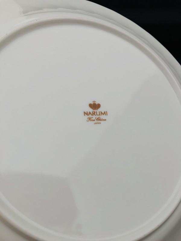 S-245◆NARUMI◆Fine China◆デザートプレートセット◆大皿◆小皿◆ケーキ皿◆ナルミ◆ファインチャイナ◆未使用品◆洋食器_画像5
