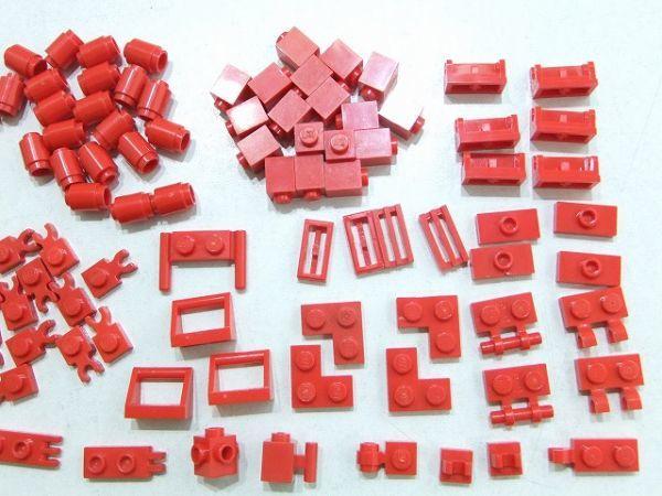[WT220] 赤 Red 1 x 1パーツ・1 x 2特殊パーツ 種類 色々 約105個セット kg_画像3