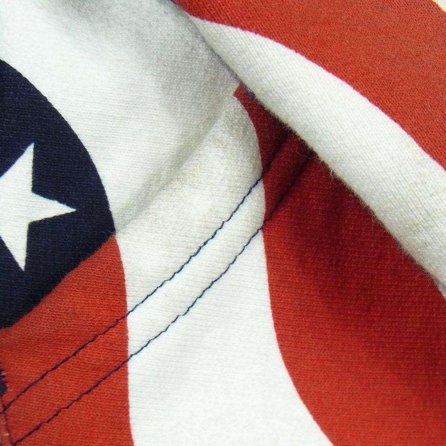 14aw supreme シュプリーム BOX LOGO HOODED SWEATSHIRT PULLOVER FLAG ボックス ロゴ スウェット パーカー 星条旗 size:S_画像5