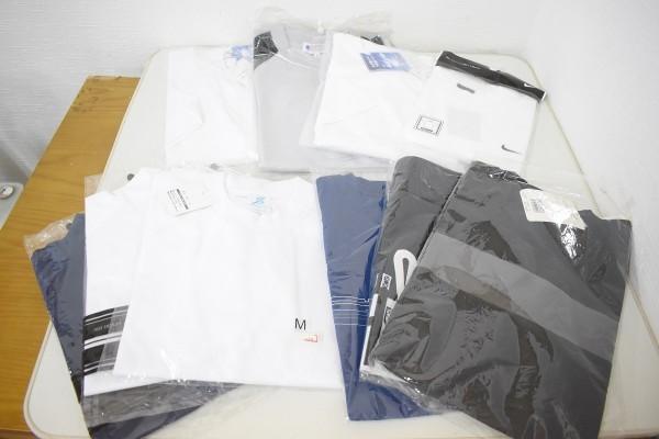 未使用品34点まとめ メンズ Yシャツ Tシャツ ウインドブレーカー NIKE ナイキ DUNLOP ダンロップ M、Lサイズ G-1906_画像4