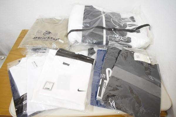 未使用品34点まとめ メンズ Yシャツ Tシャツ ウインドブレーカー NIKE ナイキ DUNLOP ダンロップ M、Lサイズ G-1906_画像2